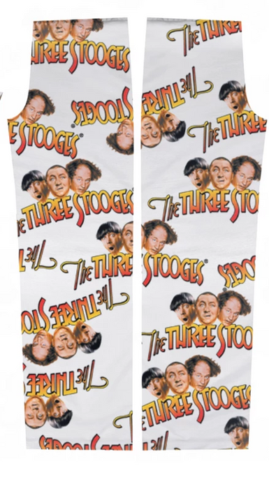 Three Stooges Logo Pajama Pants XL - 2
