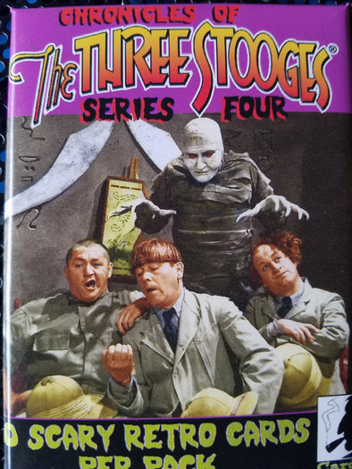 The Three Stooges Trading Cards: Series 4 - Pack - READY TO SHIP