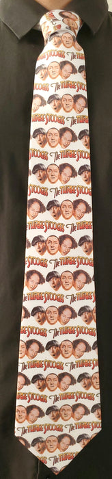 Three Stooges Logo Neck Tie
