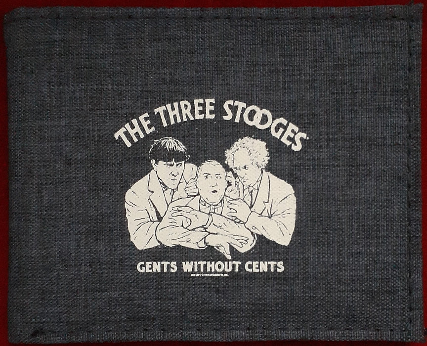 Three Stooges Wallet - Gents Without Cents - RFID Protection