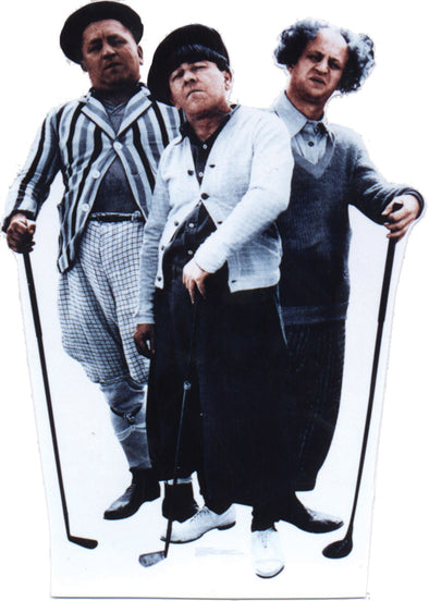 The Three Stooges Stand-Up: Golf - FREE SHIPPING