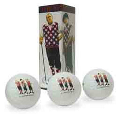 The Three Stooges Golf Balls - READY TO SHIP