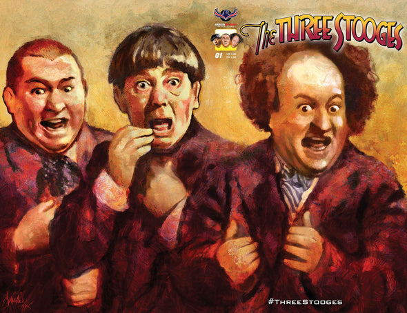 The Three Stooges Comic Books Series 2 / Cover 3 - Larry - READY TO SHIP
