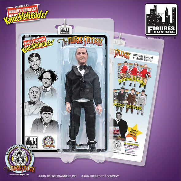 Three Stooges Action Figures | Tuxedos - Set Of 3