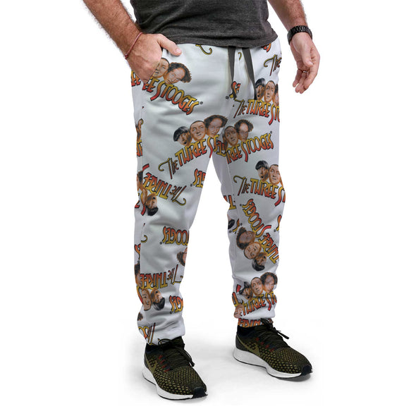 Three Stooges Sweatpants All Over Print