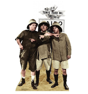 Three Stooges Stand-Up: Safari - FREE SHIPPING