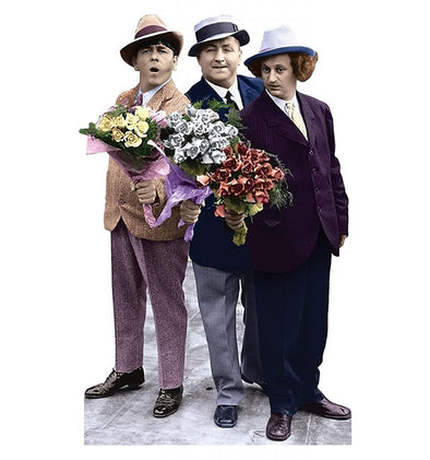 The Three Stooges Stand-Up: Flowers - FREE SHIPPING