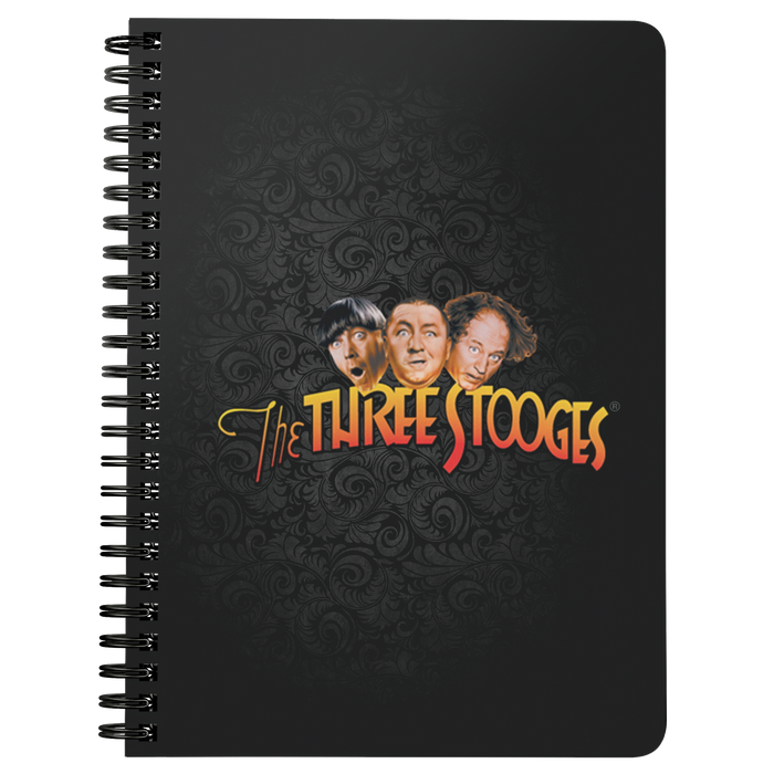 Three Stooges Notebook Small Logo