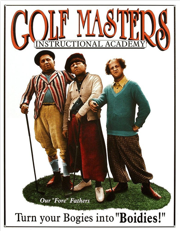 Tin Sign | Golf Masters