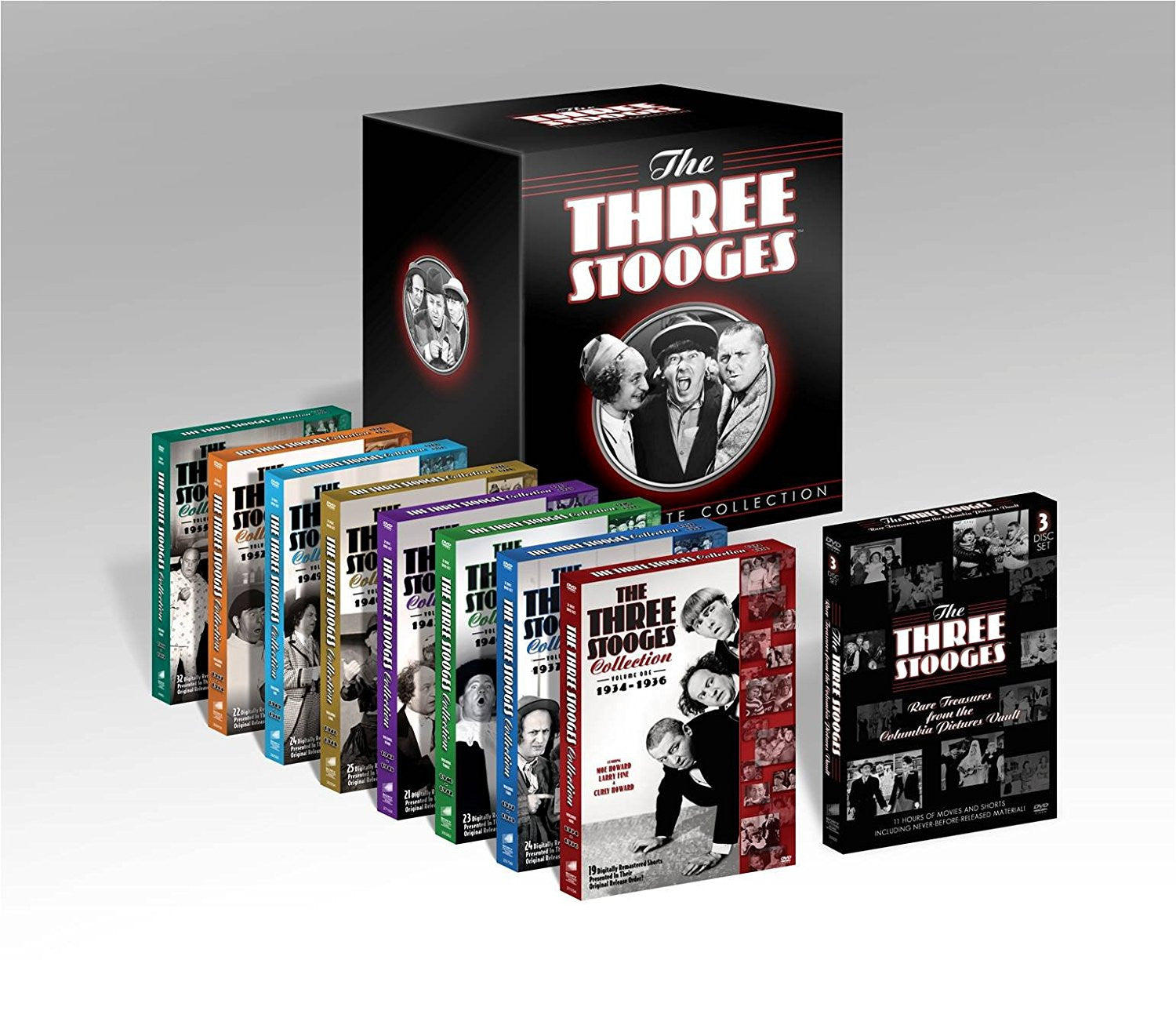 three stooges ultimate collection dvd box set shopknuckleheads