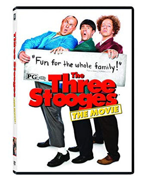 The Three Stooges Movie (2012) DVD