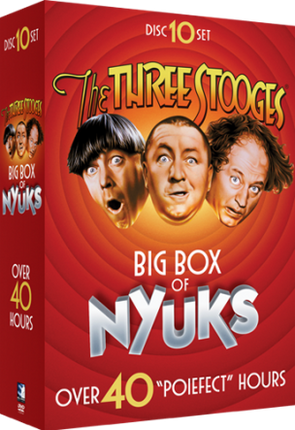Three Stooges DVD Box Set Big Box Of Nyuks + Complete Cartoon Series