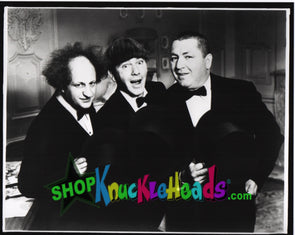 The Three Stooges CLASSIC TUXEDOS 8x10: #13 - READY TO SHIP
