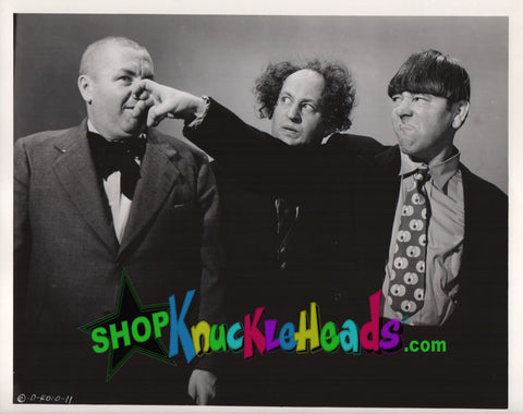 The Three Stooges 8x10: #14 - READY TO SHIP