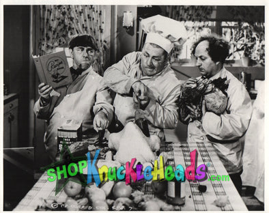 Three Stooges Stuffing Turkey 8X10: #16