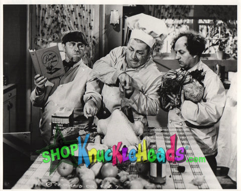 The Three Stooges 8x10: #16 - READY TO SHIP