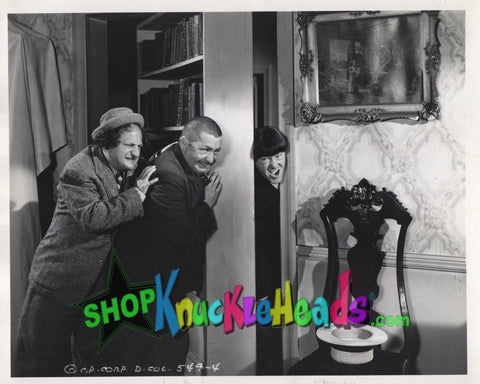 The Three Stooges 8x10: #18 - READY TO SHIP