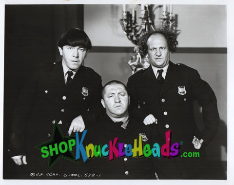The Three Stooges 8x10: #19 - READY TO SHIP