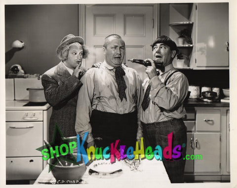 The Three Stooges 8x10: #20 - READY TO SHIP