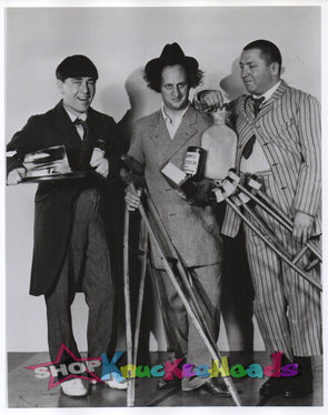 THE THREE STOOGES PHOTOGRAPHERS 8X10: #23 - READY TO SHIP