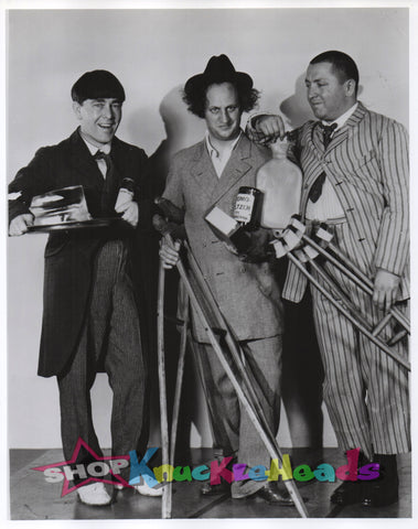 THE THREE STOOGES 8X10: #23 - READY TO SHIP