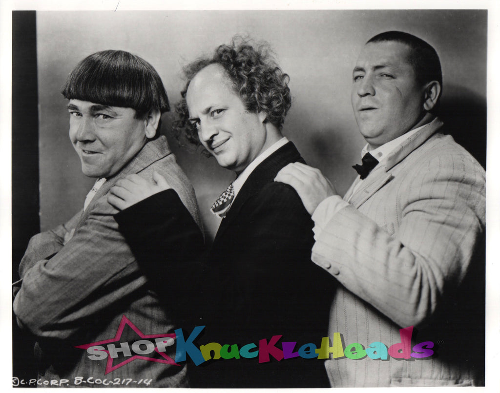 The Three Stooges SIDE POSE 8x10 #25 - READY TO SHIP