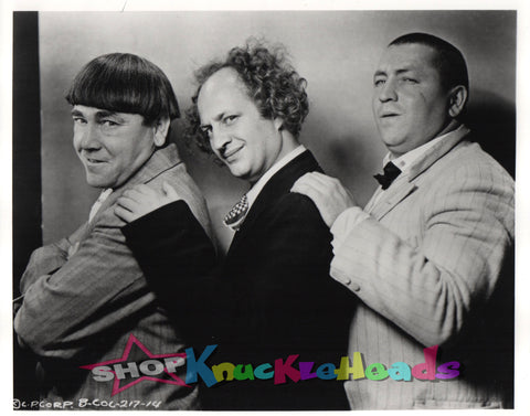 The Three Stooges 8x10 #25 - READY TO SHIP