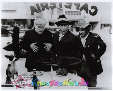 The Three Stooges LOOKING HUNGRY 8x10 #26 - READY TO SHIP