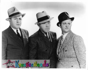 THE THREE STOOGES DAPPER 8X10: #31 - READY TO SHIP