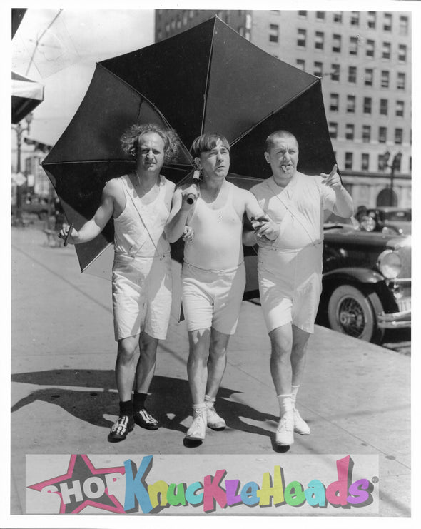 Three Stooges 8X10 Walking Bathing Suits: #32