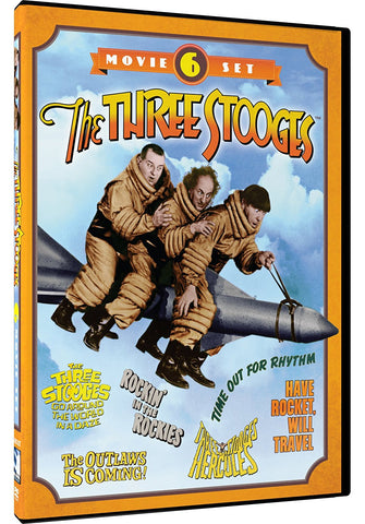 The Three Stooges DVD: 6 Movie Set - BACK IN STOCK