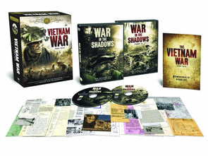 The Vietnam War Heritage Collection DVD Box Set plus Memorabilia - FREE SHIPPING