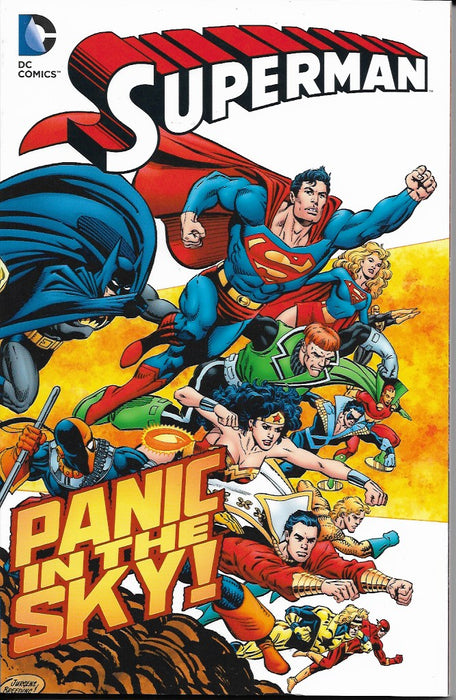 DC SUPERMAN PANIC IN THE SKY: NEW EDITION