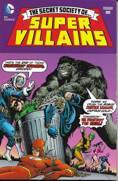 DC The Secret Society of Super Villains: Volume One