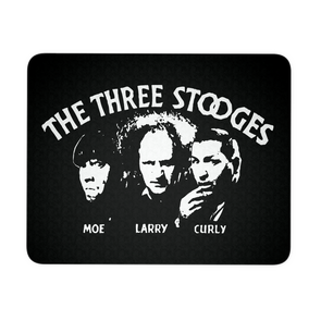 Three Stooges Opening Credits Classic Mousepad