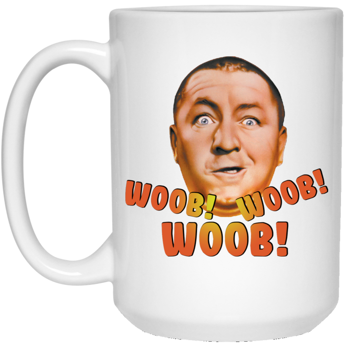 Three Stooges Woob Woob Woob Curly Large 15 Oz. Mug