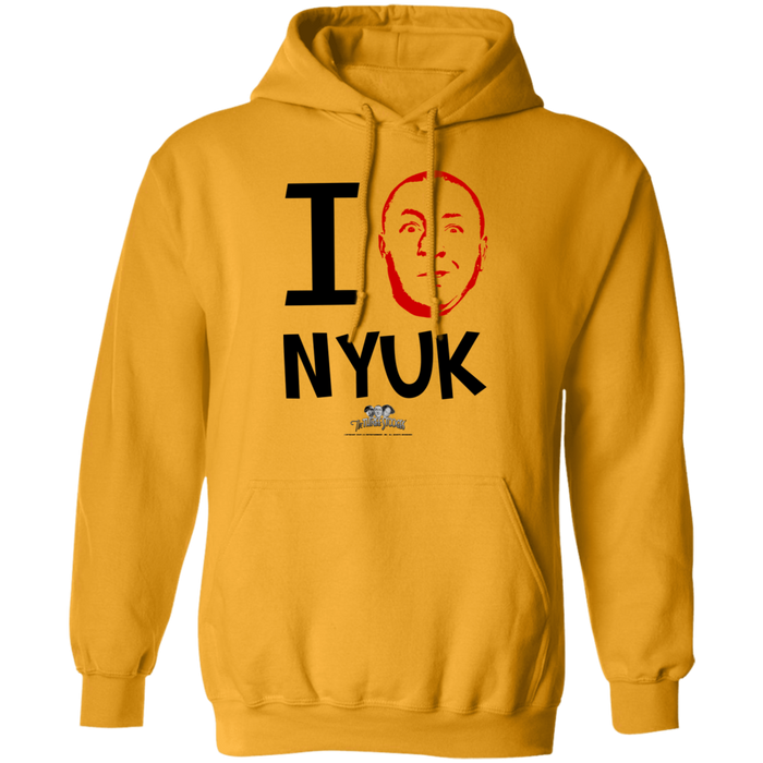 Three Stooges Curly I Love NYUK Pullover Hoodie