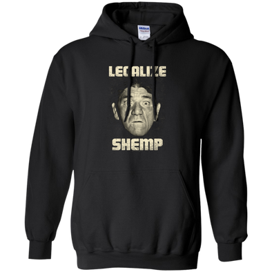 Three Stooges Legalize Shemp Hooded Sweatshirt - FREE SHIPPING