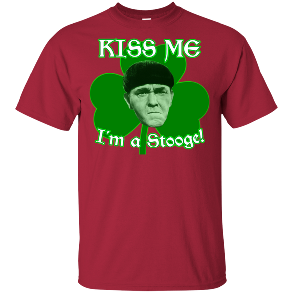 Three Stooges Kiss Me I'M A Stooge T-Shirt