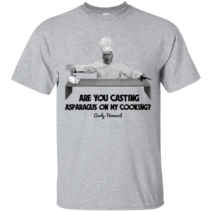 Three Stooges Chef Curly T-Shirt
