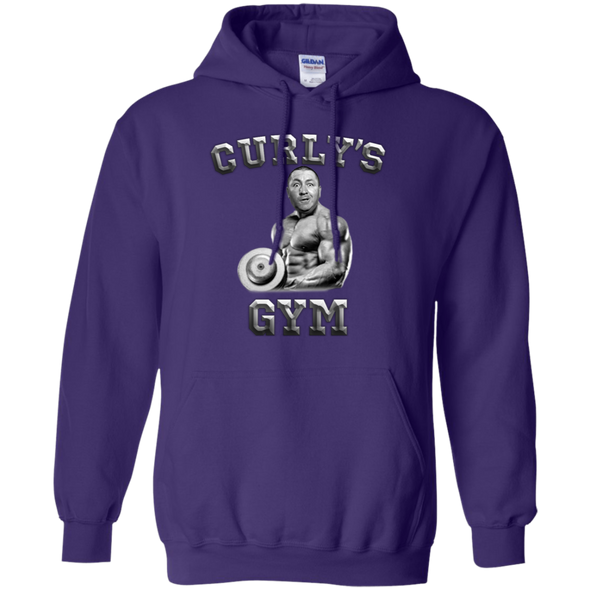 Three Stooges Curly's Gym Hoodie - FREE SHIPPING