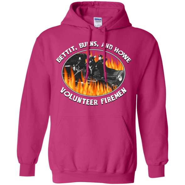 Three Stooges Pullover Hoodie Volunteer Firemen - FREE SHIPPING