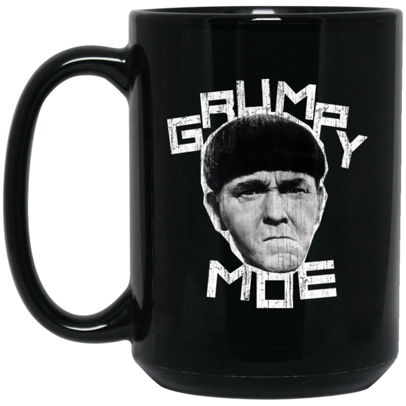 Three Stooges Grumpy Moe Large 15 oz. Mug - FREE SHIPPING