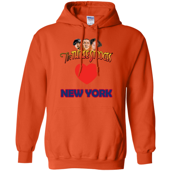 Three Stooges Love New York Heart Hoodie - FREE SHIPPING