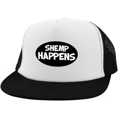 Three Stooges Trucker Hat With Snapback - Shemp Happens