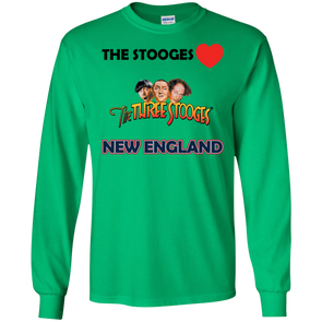 Three Stooges Love New England Long Sleeve Shirt