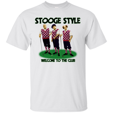 Three Stooges Golf T-Shirt