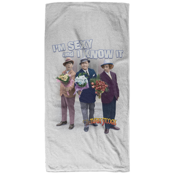 Three Stooges Sexy Bath Towel - 32X64