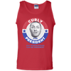 Three Stooges Curly For President Tank Top