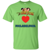 Three Stooges Love Philadelphia Heart T-Shirt